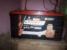 E rikshwa battery is use for inverter