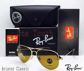 Ray Ban glass