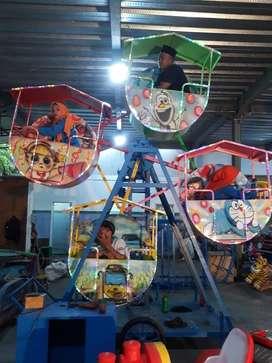 kincir mini isi 4 mainan labirin run bundar bulat usaha kekinian TWB