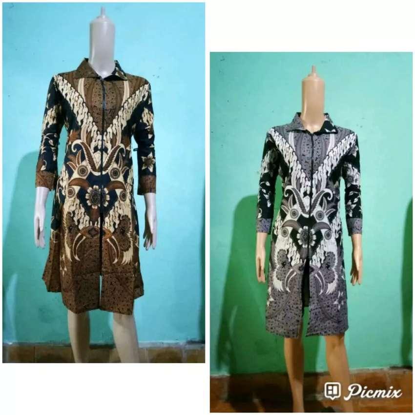Dress batik Zipper maria 0