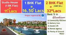 HighAmenities &Less Price, 1BK Flats 4r Sale in Gannavaram,Vijayawada