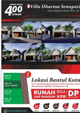 Rumah baru di bantul kota