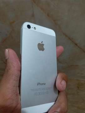 Iphone 5 silver