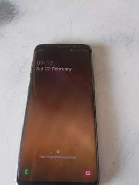 s8 @ 2018  complite set with box and bill