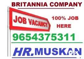 Britannia Company- Apply Job Full Time Helper,Store Keeper,Supervisor.
