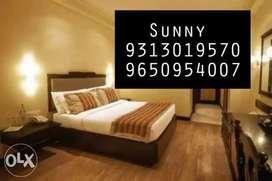Near library starts 5k PG,Single Rooms 1/2/3 BHK In Patel Nagar,Karol