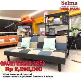 Sofabed promo dari Selma Panbil mall