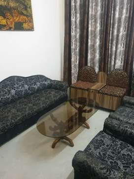 Fully Furnished 3BHK flat for rent park facing