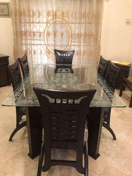 Dining Table 6 seater NM furnshiers