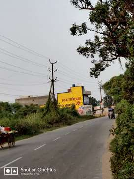 Bijnor Main Road 1550 sqft Commercial Use Near Bharat Petrol Pump