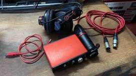 Focusrite Audio interface/sound card