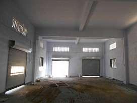 vapi  3rd phase area 4000 sq.ft. godown for rent.
