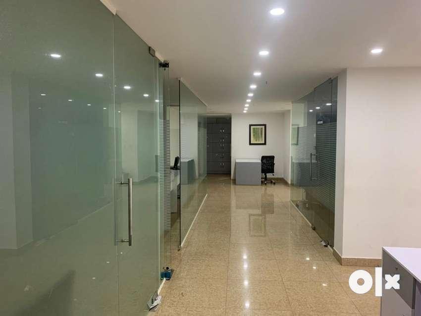 Ground floor. Rent 75000. Interior 18 lakhs ( negotiable) 0
