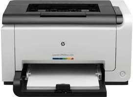 HP CP1025 COLOR LASER PRINTER