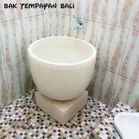 Bak mandi blong 1/2 putih - Putih