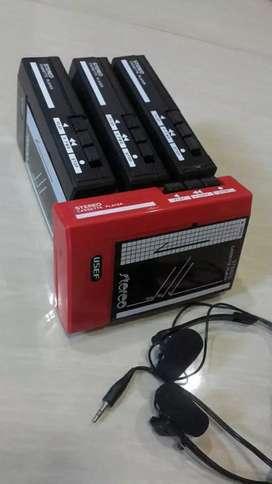 Tape kaset baru 4 buah 150rb