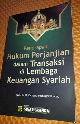 Buku Pnerapan Hukum Prjanjian dlm transaksi di lembga keuangan syariah