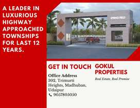 Highway Touch  Converted Plots at airport road New Udaipur bhatewar
