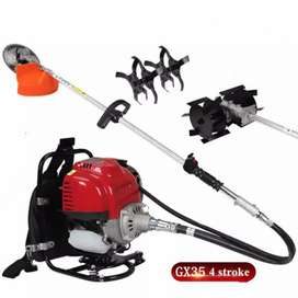 Brush Cutter Tiller Back Pack. GODI machine