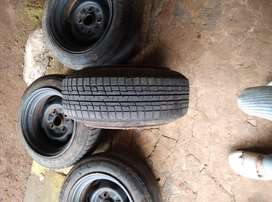 4 tyres and Drums for alto 800, maruti 800, zen
