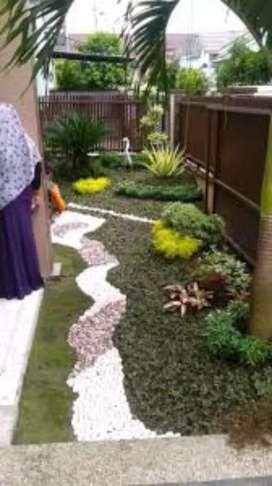 Tukang taman hijau minimalis/Leles