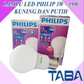 LAMPU LED PHILIPS 3W, 4W, - 19W WARM WHITE & WHITE