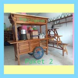 ONGKIR GRATIS, Gerobak/Rombong Angkringan, Bayat, TERPERCAYA C055