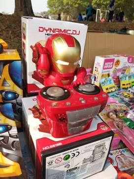 MAINAN ANAK TERBARU ROBOT DANCE HERO IRONMAN DISCO