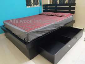 Wooden storage Cot available factory direct