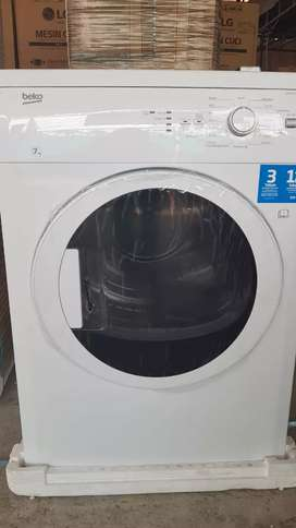 Mesin pengering dryer laundry konversi gas