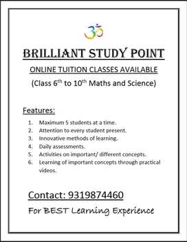 Online Tuition Classes for Classes (Brilliant Study Point)