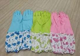 Sarung tangan cupir motif bunga