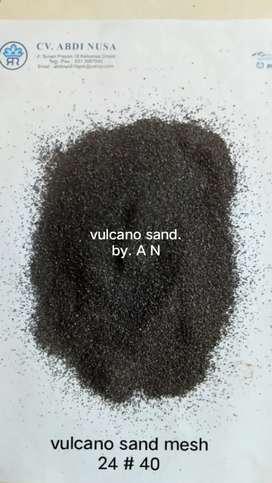 pasir vulcanik sandblasting