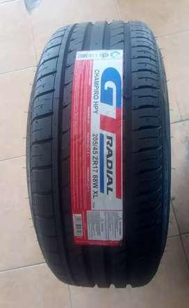 Ban GT radial hpy ukuran 205-45 R17 bisa untuk mobil Avanza Xenia city
