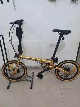 sepeda lipat troy murah