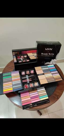 1. Sephora festival of color Make up box. 2 NYX Cosmetic beauty box