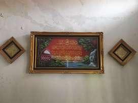 Kaligrafi asli dari bahan kuningan