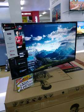 tv TCL android 32in kredit cukup bawa ktp