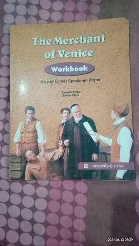 Merchant of Venice workbook of morning star