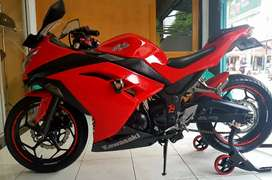 kawasaki ninja 250 fi thun 2013 mulus sehat kali