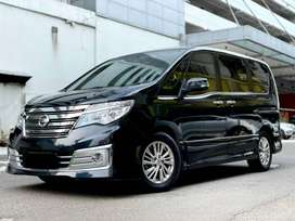 NISSAN SERENA 2.0 HWS AUTECH PANORAMIC AT 2016 HITAM