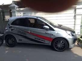 Honda Brio  E AT2013 barang masih mulus veleg sudah racing pajak hdp