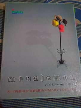 Buku Manajemen jilid 1 stephens robbins