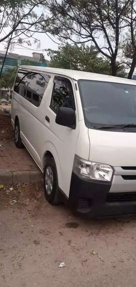 Toyota hiace 200 2019 import no touching brand new car