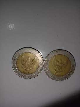 Uang Logam Rp. 1000 thn 1996 dan 2000