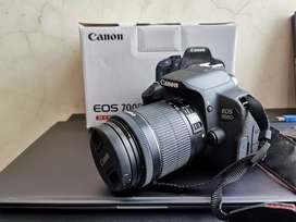 Kamera Canon 700d + Lensa kit