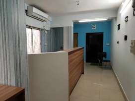 Full furnished office for rent at chinerperk atghora petrol pump