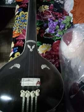 Tanpura . A musical instrument.