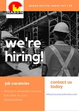 JOB OPENING FOR EXPERIENCED CIVIL ENGINEER (DIPLOMA)
