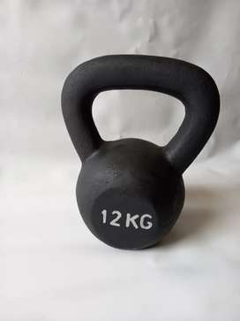 Kettlebell weigh 12 kg - 10 kg - 8 kg